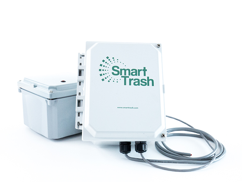 Smarttrash Trash Management System Wifi Compactor Monitoring